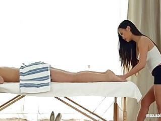 Sensual asian seduction by Sapphic Erotica sensual lesbian babes love porn with PussyKat J