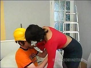 Indian Babe Malvina Layton Fucking Handyman