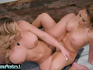 Hot Lesbian Phoenix Marie Richelle Ryan Get Hard Punished With Sex Toys By Mean lez