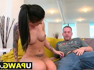 Hard anal ass pounding for Christy Mack