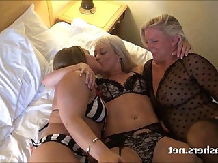 Mature lesbian girls fingering and pussy pleasuring on spycam with milf b