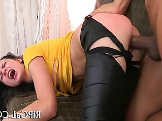 Sexy ass of angel fucked