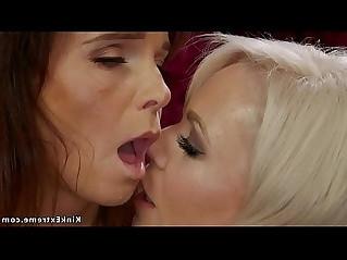 Milf lesbian mistress whips slave bdsm