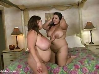 BBW Lesbians Kacey Parker N Jane Kush Lick my Pussy